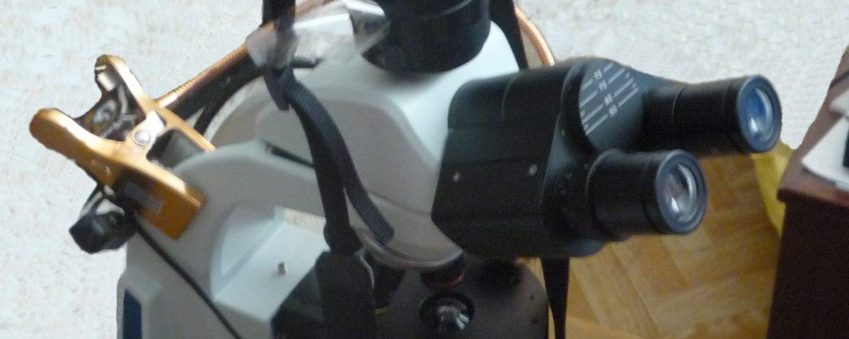 Установка для микросъёмки